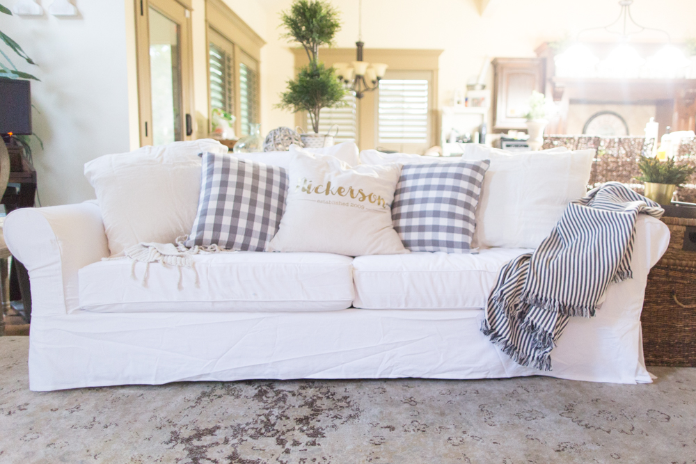 Slipcovers will change your life!